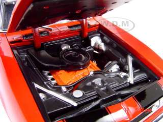 1967 CHEVROLET CAMARO Z28 RED 118 SCALE DIECAST MODEL