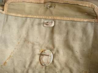 WWII ORIGINAL GERMAN ARMY CANVAS CLOTHING BAG