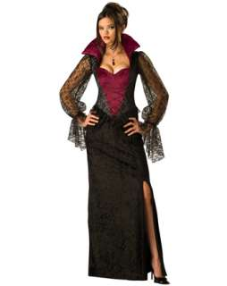Adult Midnight Vampiress Costume  Wholesale Vampire Halloween Costume