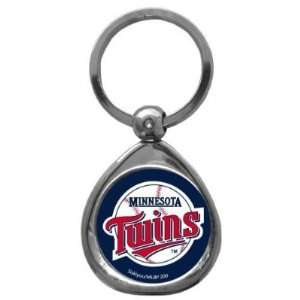 Set of 2 Minnesota Twins High Polish Chrome Key Tag   MLB