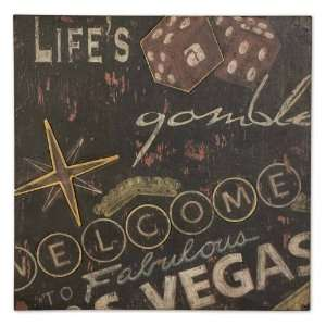 Lifes a Gamble Art Accent