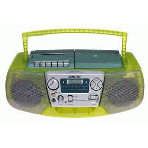 CFDV177 CD/Radio Cassette Recorder (Green)  Players & Accessories