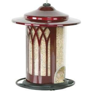 Homestead Scarlet Garden Arch Bird Feeder Patio, Lawn & Garden