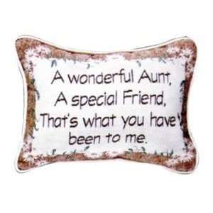 Set Of 2 Wonderful Aunt Is A Special Friend Decorative Throw Pillows 9