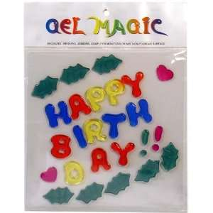 Happy Birthday Large Gel Magic