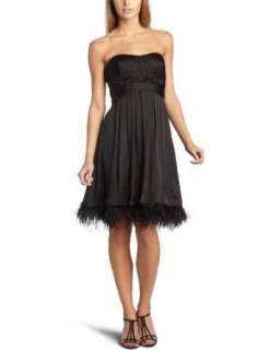 Jessica Simpson Womens Feather Dress Clothing