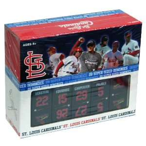 St. Louis Cardinals MLB Baseball Dominoes Set Toys & Games
