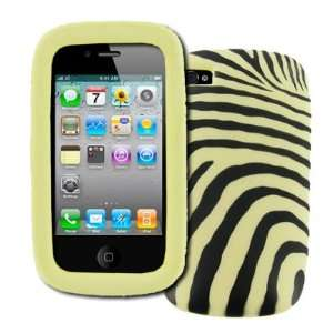 com EMPIRE Apple iPhone 4/4S Zebra Stripes Design Case Cover [EMPIRE