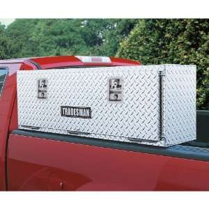 Tradesman 72 inch Aluminum Top Mount Tool Box Bright