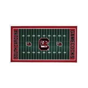 NCAA South Carolina Gamecocks XL Football Field Mat