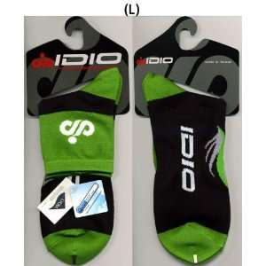 Idio Cycling Socks Pair, Green Color Color M L
