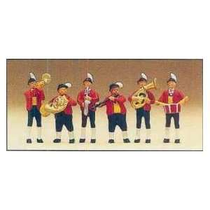 BAND   PREISER HO SCALE MODEL TRAIN FIGURES 10207 Toys & Games