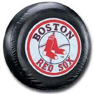 Boston Red Sox MLB Black Spare Tire Cover Sports