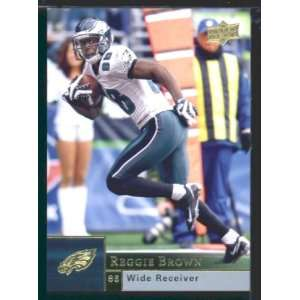 com Reggie Brown   Eagles   2009 Upper Deck NFL Football Trading Card