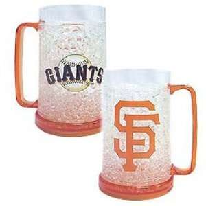 San Francisco Giants MLB Crystal Freezer Mug