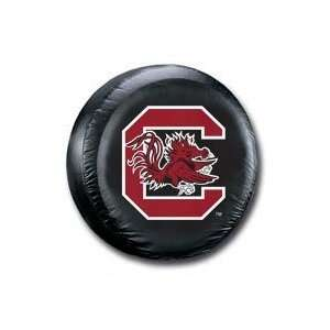 Carolina Gamecocks USC NCAA Black Spare Tire Cover