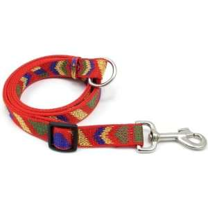 Adjustable Nylon Dog Lead, Red, 42 to 76