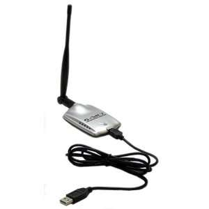Gs 27Usb 50 High Power 500Mw Usb Wifi Adaper With 5Dbi Dipole Antenna