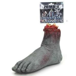 Zombie Severed Foot Halloween Prop