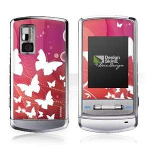 Design Skins for LG Shine KE970   Rainbow Butterfly Design