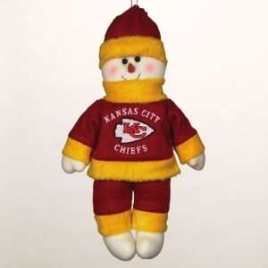 Kansas City Chiefs NFL Plush Snowflake Friend (10)