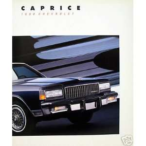 1988 Chevrolet Caprice sedan/wagon vehicle brochure