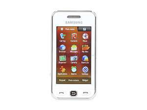 Samsung Star White Unlocked GSM Touch Screen Phone with 3