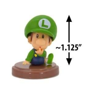 Baby Luigi ~1.125 Mini Figure [Super Mario Choco Egg Mini