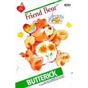 6231 Vintage Sewing Pattern Friend Care Bear Arts, Crafts & Sewing