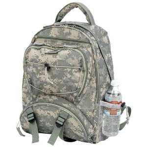Digital Camo Water Repellent Backpack