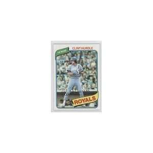 1980 Topps #525   Clint Hurdle Sports Collectibles