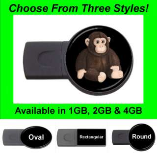 Cute Monkey   USB Flash Memory Drive (Stick/Thumb/Pen)   FD1188