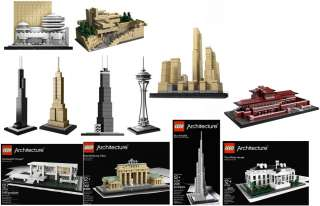 Lego Architecture Series Collectors Set Of 12 *New*