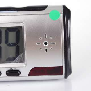 Digital Clock Hidden Spy Camera DVR USB Motion Alarm